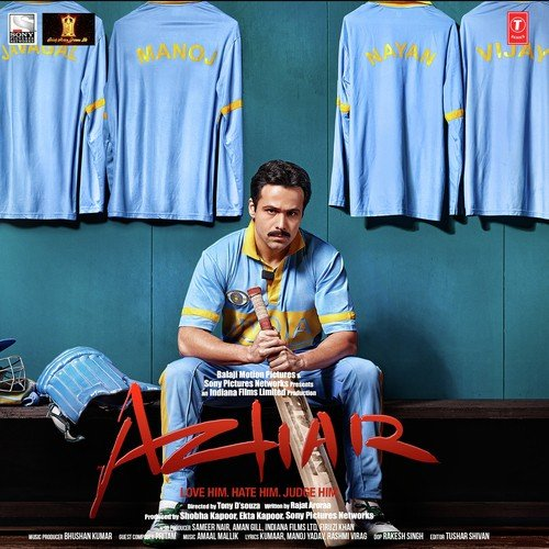 Azhar, Azhar songs, Hindi Album Azhar 2016. Saavn.com ...