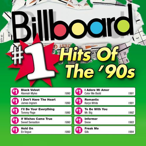 Billboard 1 hits of the 90 39 s billboard 1 hits of the for Classic 90 s house music list