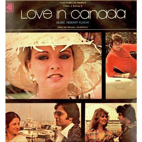 Love In Canada, Love In Canada songs, Hindi Album Love In Canada 1979 ...