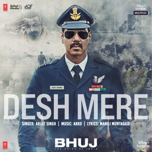 Desh Mere – Bhuj The Pride Of India Mp3 Hindi Song 2021 Free Download