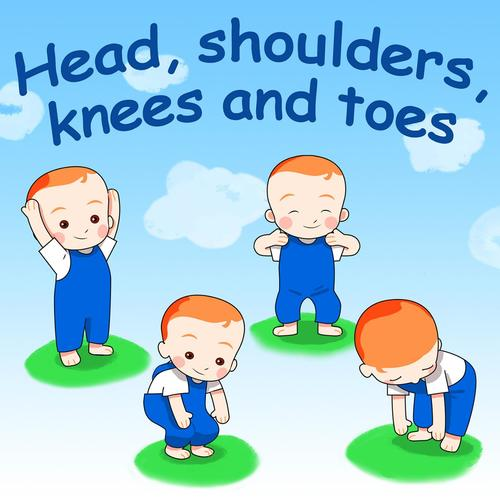Head, Shoulders, Knees And Toes Lyrics - Belle, the Nursery Rhymes ...