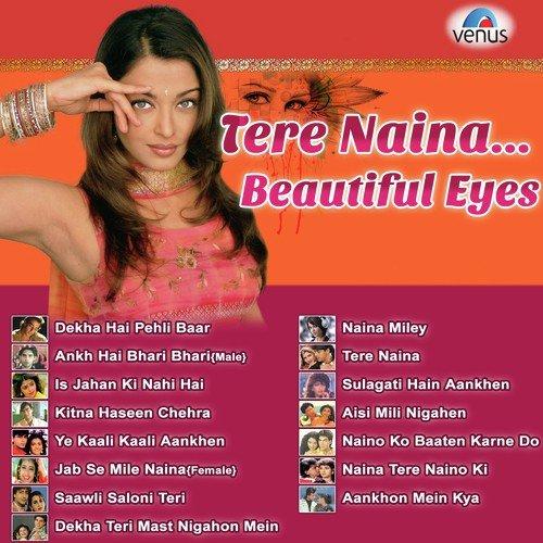 Hindi songs on beautiful eyes