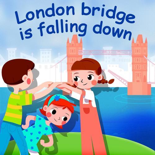 london bridge is falling down belle the nursery rhymes