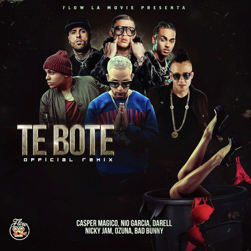 Listen to Te Boté (Remix) Songs by Nio Garcia, Casper Magico