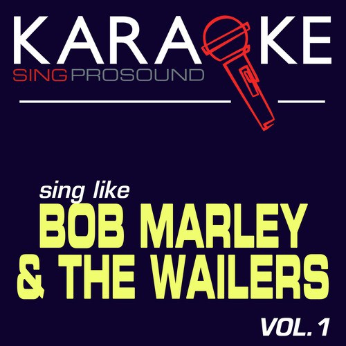 No Woman No Cry In The Style Of Bob Marley The Wailers Karaoke