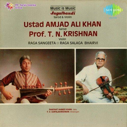 Jugalbandi instrumental ustad ali akbar khan, pt. Ravi shankar.
