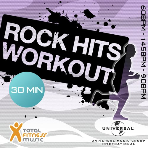 Rock Hits Workout 60 - 145 - 90bpm Ideal For Cardio Machines