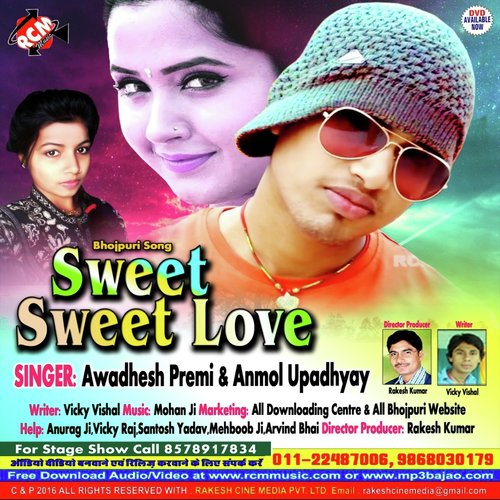 Sweet love singer