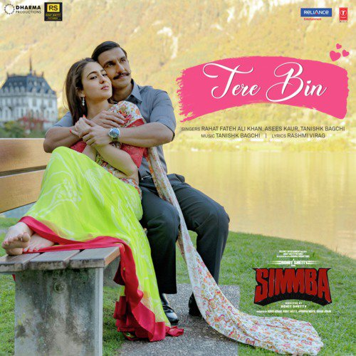 "Download Songs Of Simbha 2018: Listen To Tere Bin (From ""Simmba"") Songs By Rahat Fateh"