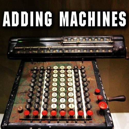 Vintage Electric Adding Machine, Circa 1950: Key In Single