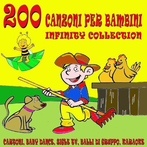 Canzoni per bambini infinity collection cartoni