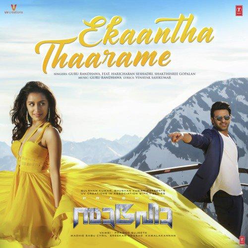 "Ekaantha Thaarame (From ""Saaho"")"