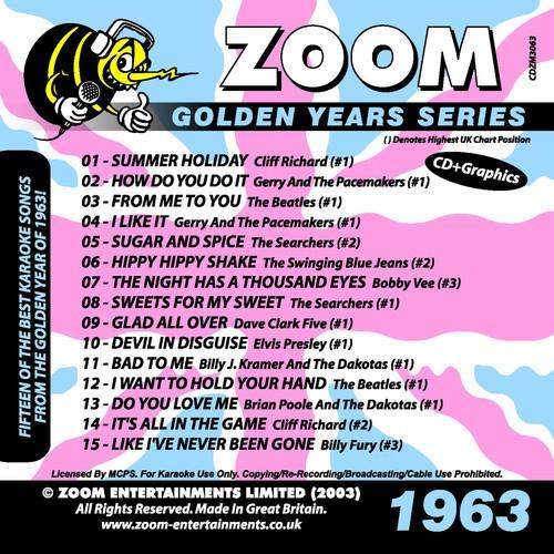 Bad To Me Song - Download Zoom Karaoke Golden Years 1963