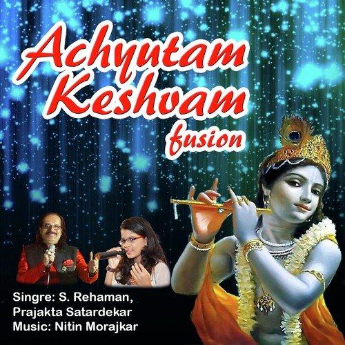 Achyutam Keshavam Bhajan with Lyrics in English