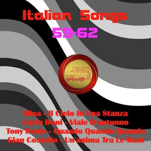 Nel Cielo Dei Bar Song - Download Italian Songs 59-62 Song