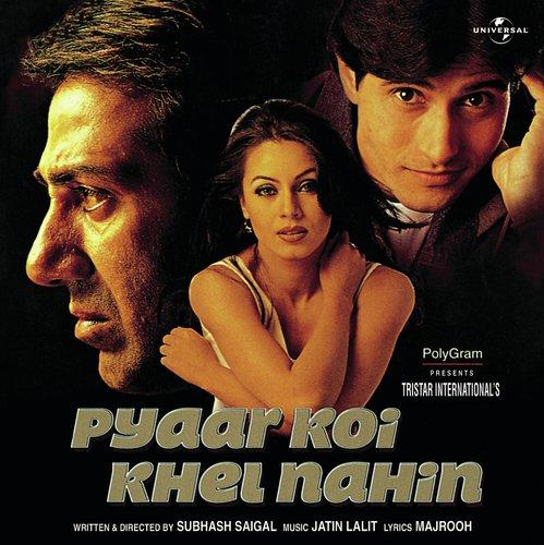 Yaad Piya Ki Aane Lagi Sad Pyaar Koi Khel Nahin Soundtrack Version Lyrics Pyaar Koi Khel Nahin Only On Jiosaavn