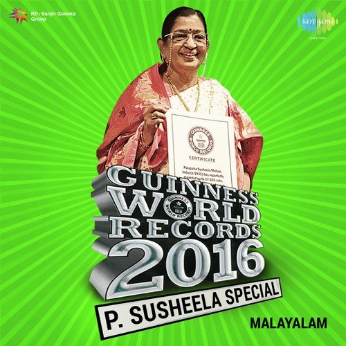P  Susheela Special Malayalam - Guinness World Records 2016 Songs