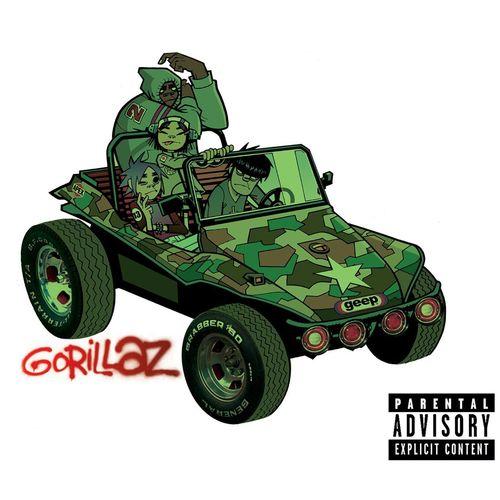 "My virtual ""collection"" of gorillaz releases: gorillaz."