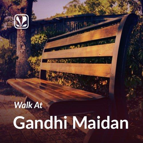 Walk At Gandhi Maidan